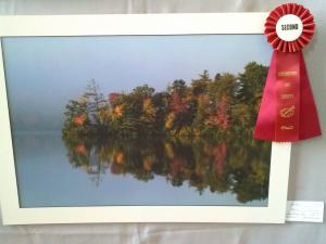 Fall At Heart Pond Takes 2nd Place